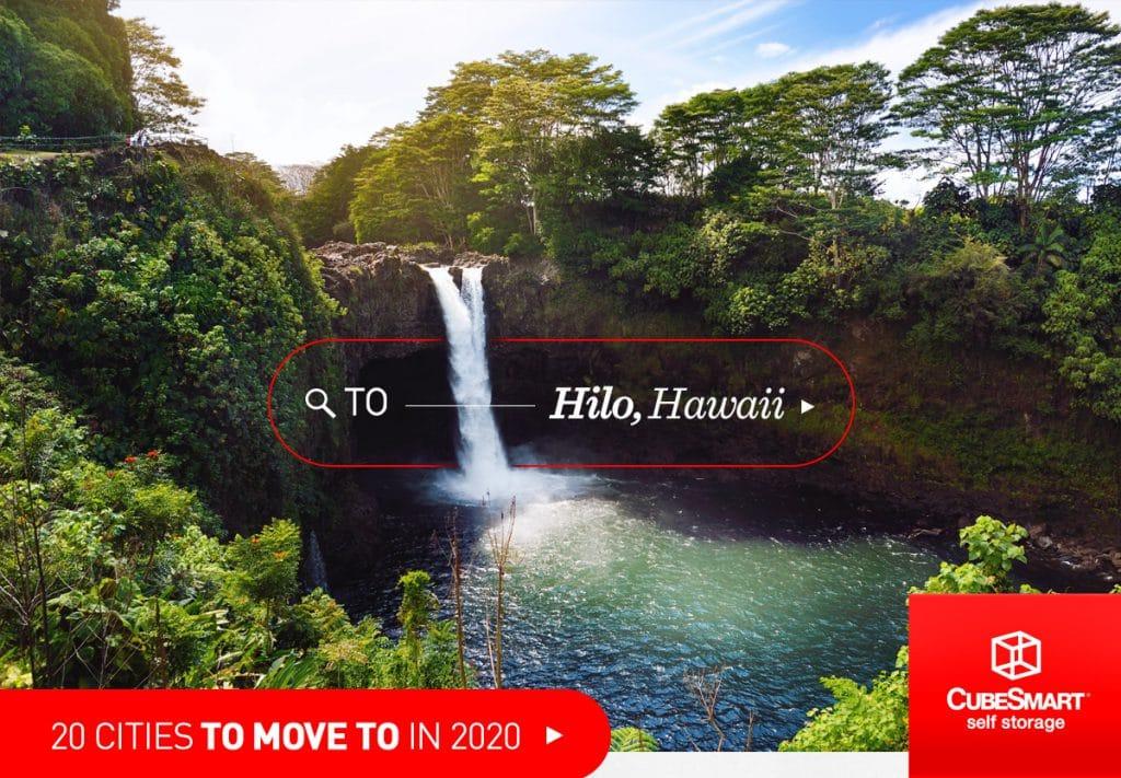 Wasserfall in Hilo, HI