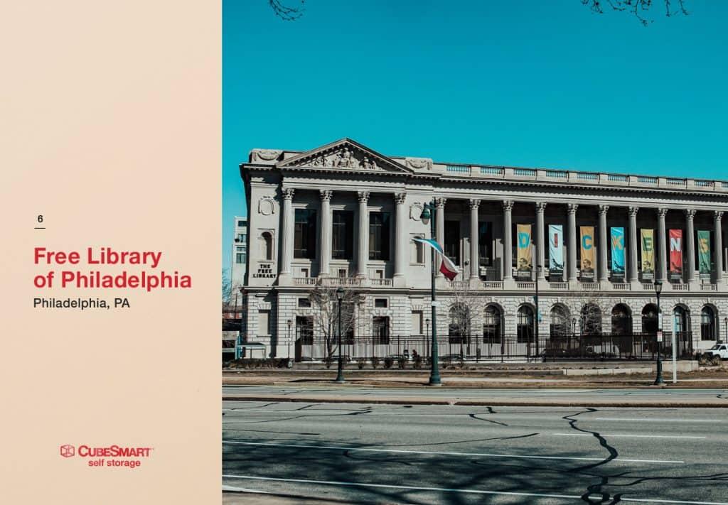 philadelphia public library exterior