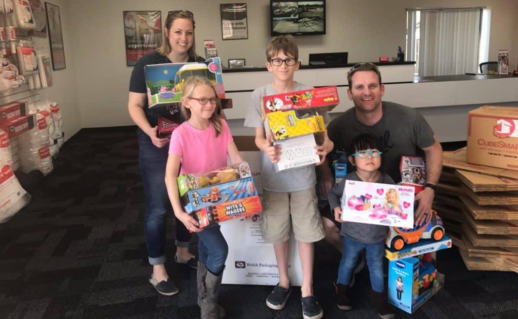 Toys For Tots Drop Off At Select Cubesmart Locations