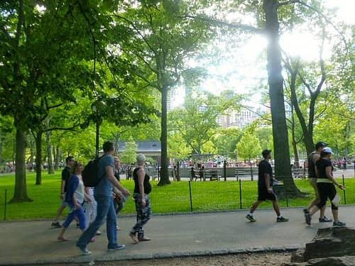 family friendly park in Brooklyn, New York