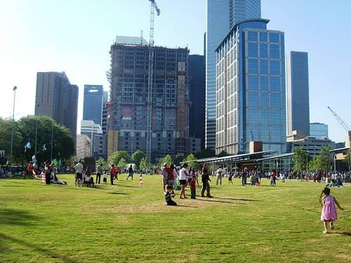 East Downtown Houston neighborhood park