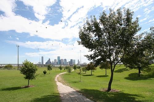 Houston Heights Neighborhood in Northside Houston