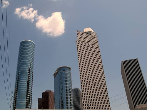 One Park Place Neighborhood in Downtown Houston
