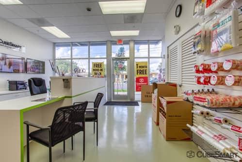Coconut Grove Self-Storage Facility- CubeSmart Office Interior