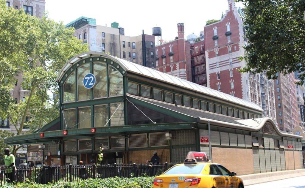 72nd street subway in New York City