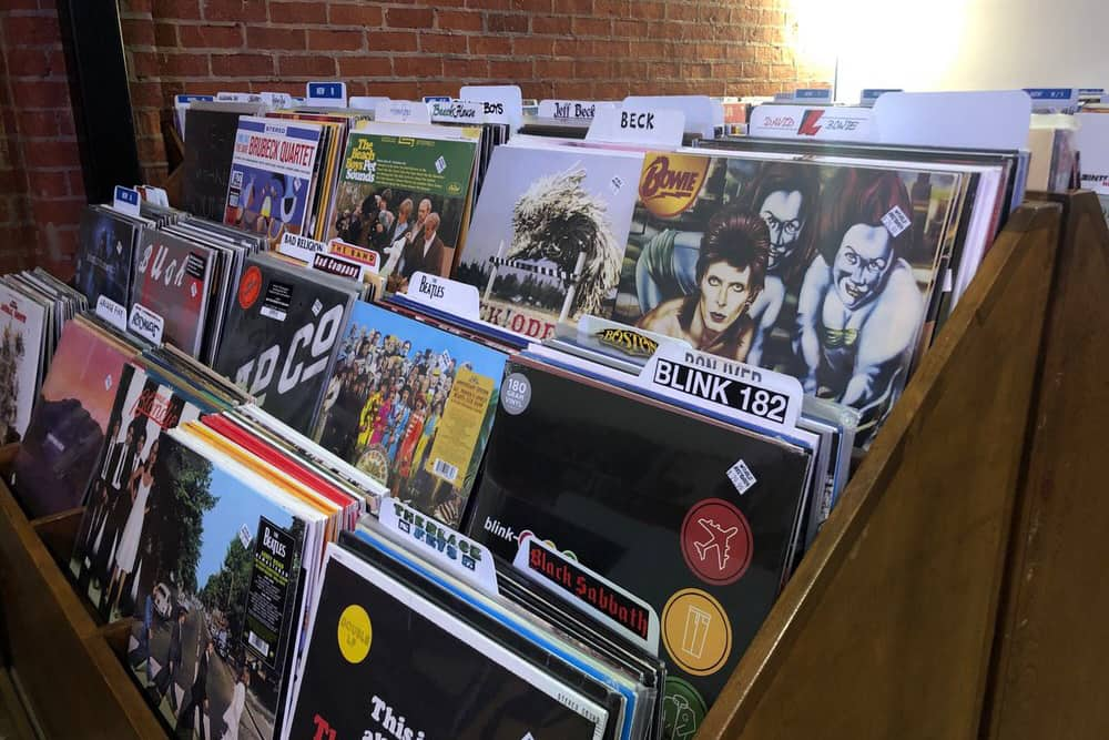 Shopping at World Records in Bakersfield CA