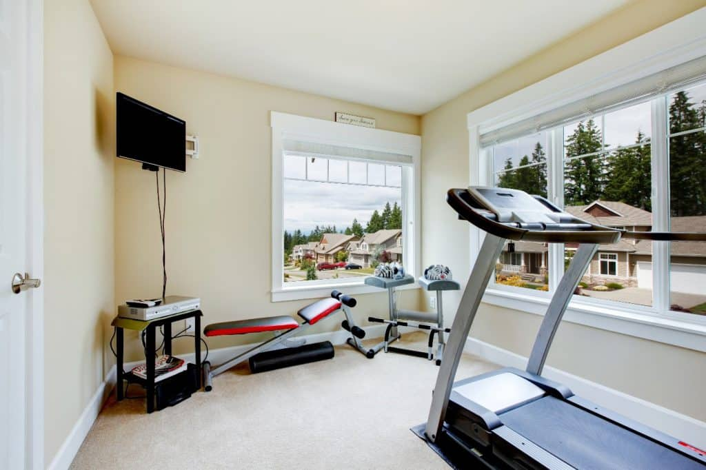 Bedroom Into Gym