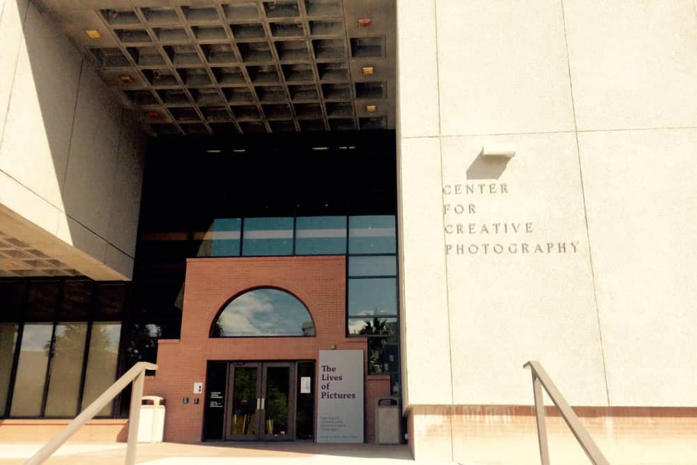 Entrance to the Center for Creative Photography Tucson
