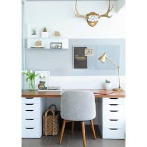 desks with drawers for organizing