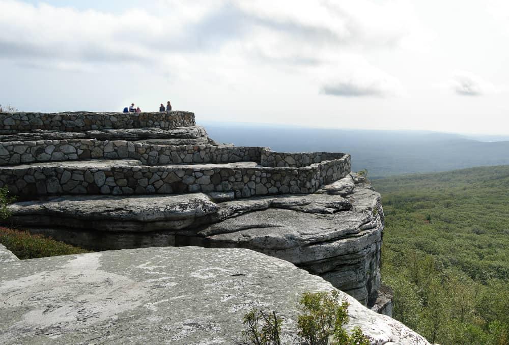 View of Shawangunk Ridge in New York