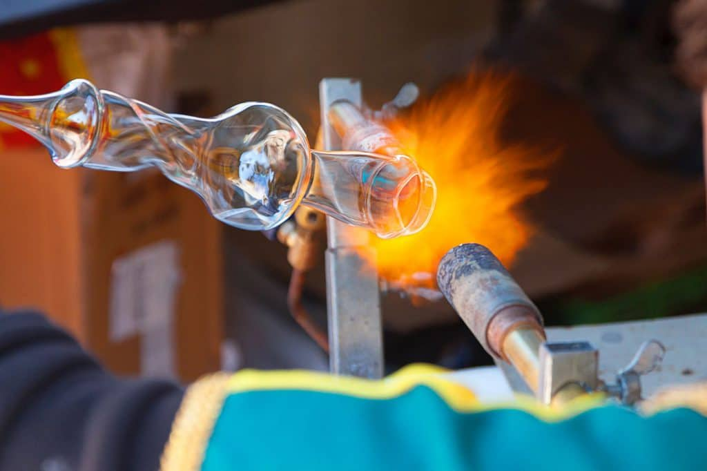 glass blowing- first date in west Sacramento
