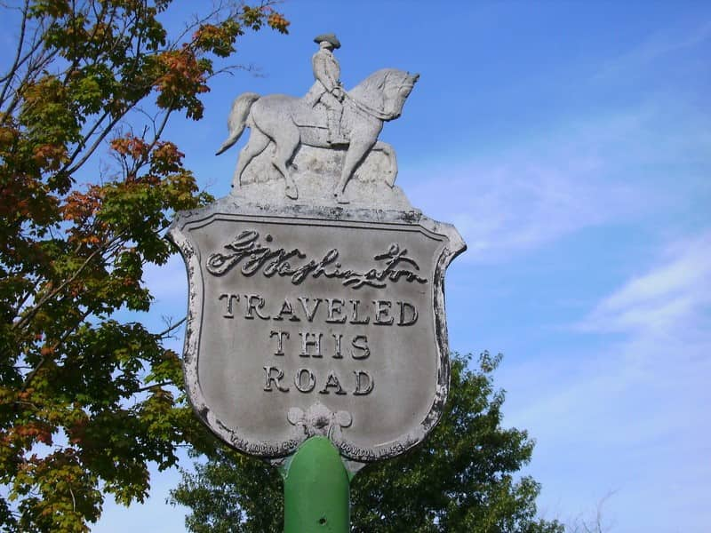 Historic-Rosedale-sign-george-washington-traveled-this-road