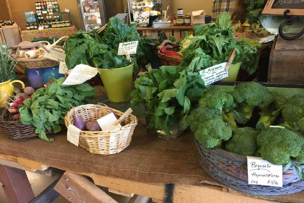 Farmers market in Woodinville Washington