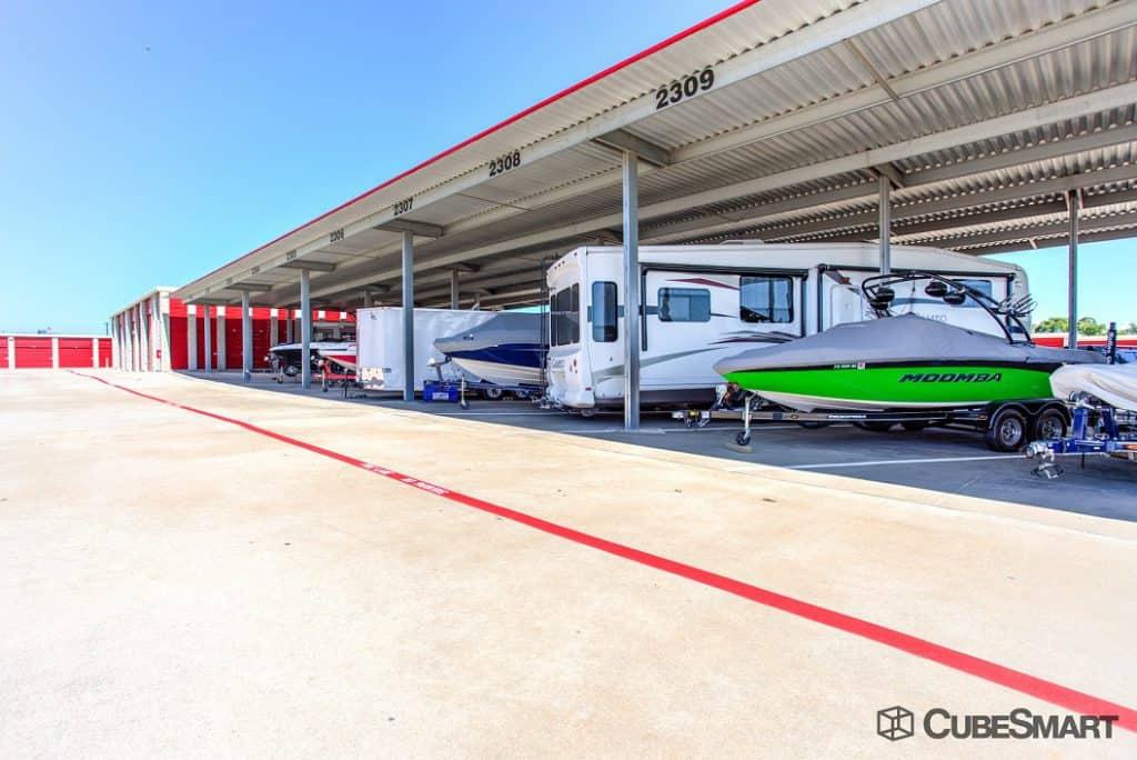 Lewisville boat parking RV parking