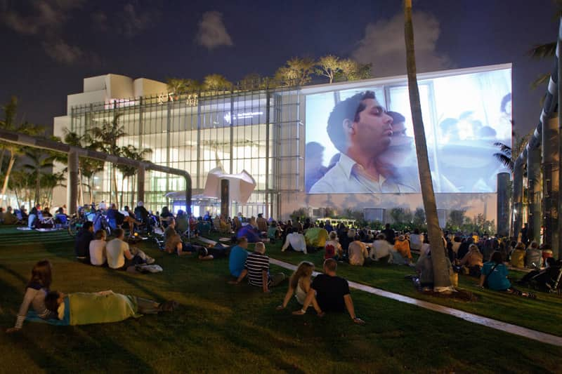movie playing at Soundscape in Miami, Florida