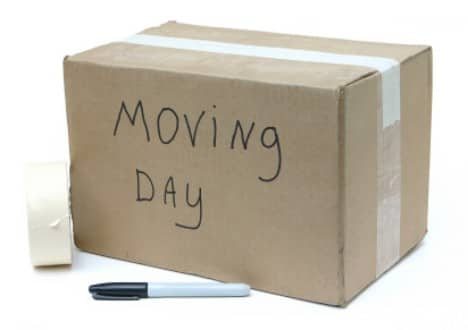 moving day timeline checklists