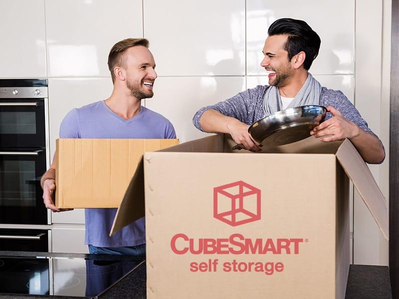 box of essentials - moving