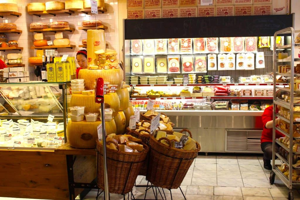 Murray's Cheese Shop in NYC