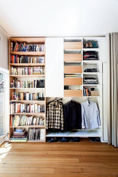 NYC Studio Apartment Closet