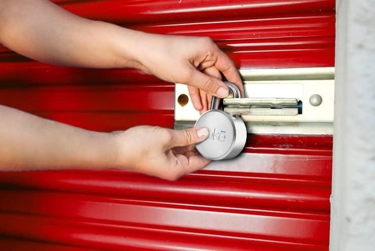 Noke-padlock-Storage-unit