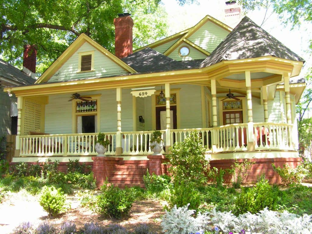 Moving to Atlanta- Victorian house