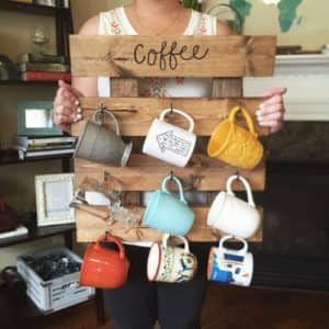DIY pallet project upcycle