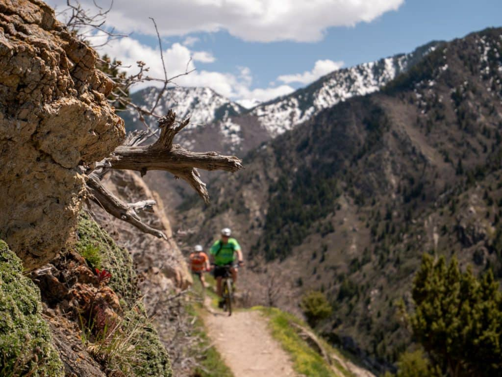 Mountain biking in Salt Lake City