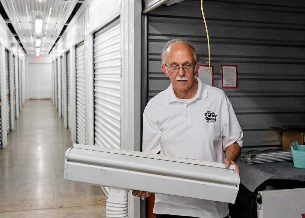 CubeSmart Peachtree Corners customer Steve B at Storage unit