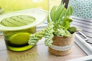 plant pot 2_repurposed yogurt container