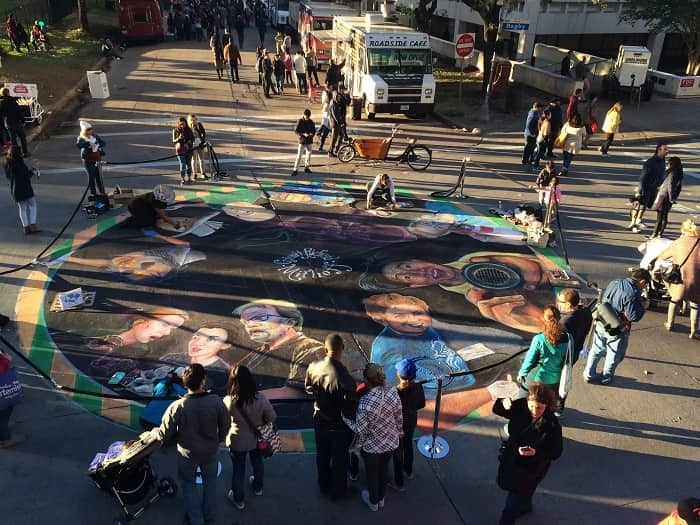 Add this to your fall activities list in Houston: a chalk festival