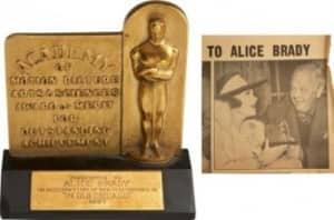 Alice Brady's Oscar | 5 Lost Artifacts We Can't Believe Went Missing