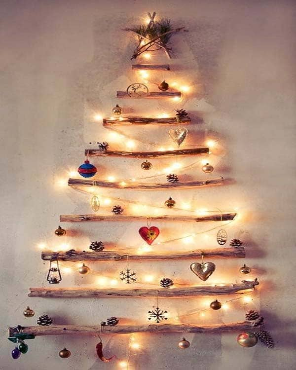 Alternative Christmas Trees.Upcycled 13 Alternative Christmas Trees Cubesmart Self