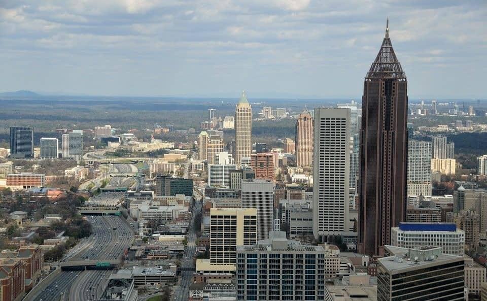 View of the city of Atlanta, Georgia