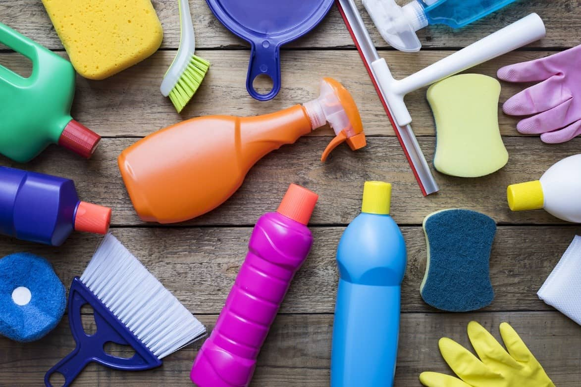Baby safe and family-friendly cleaning products