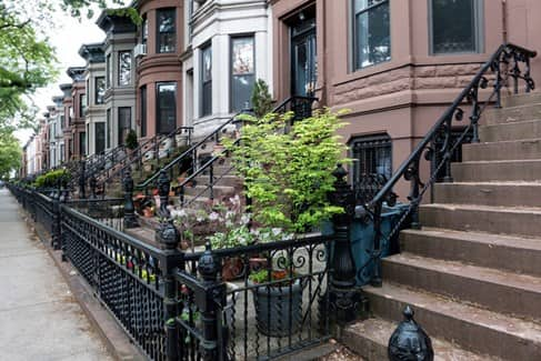 Brooklyn Brownstone in New York