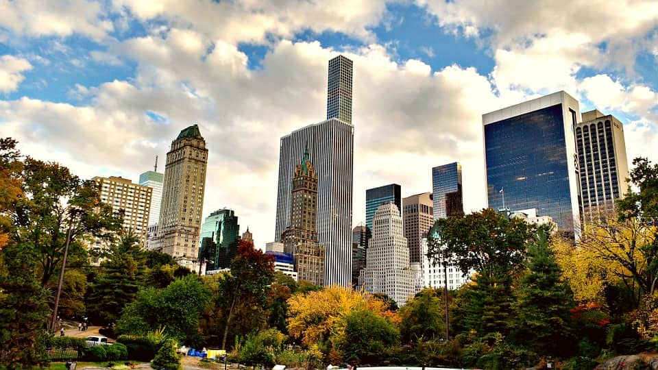 Things to do in NYC in the fall – biking in Central Park