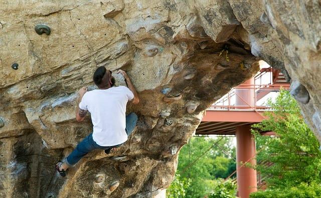 columbus climbing wall