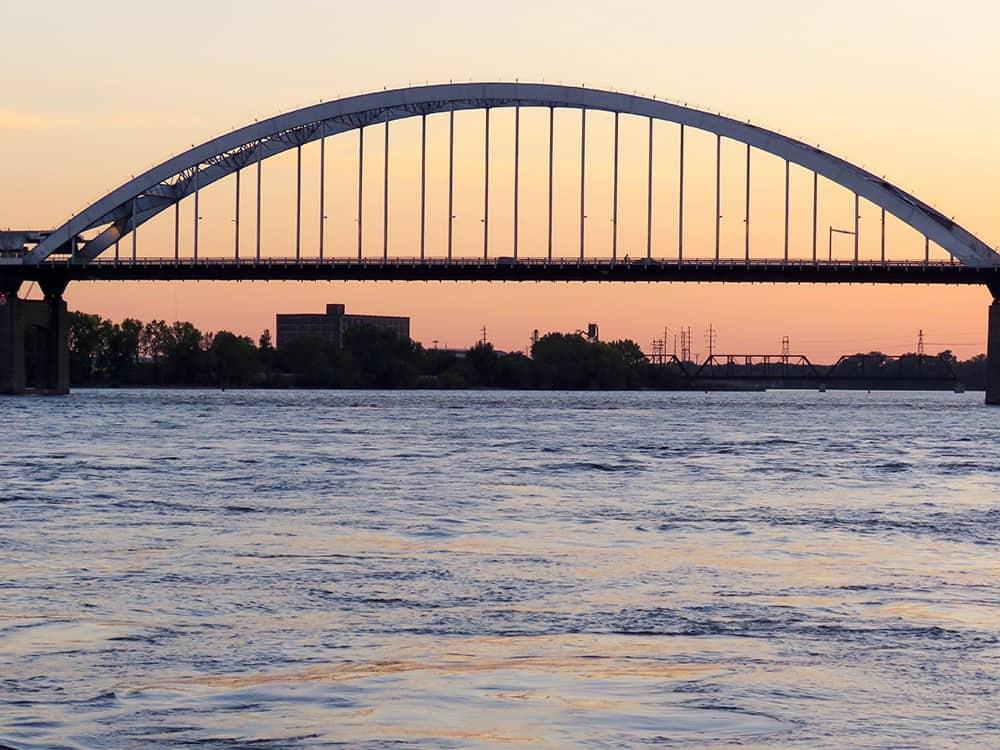Davenport IA Centennial Bridge