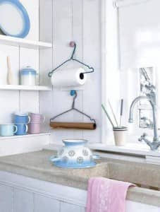 Paper Towel Holder Upcycle_Hangers