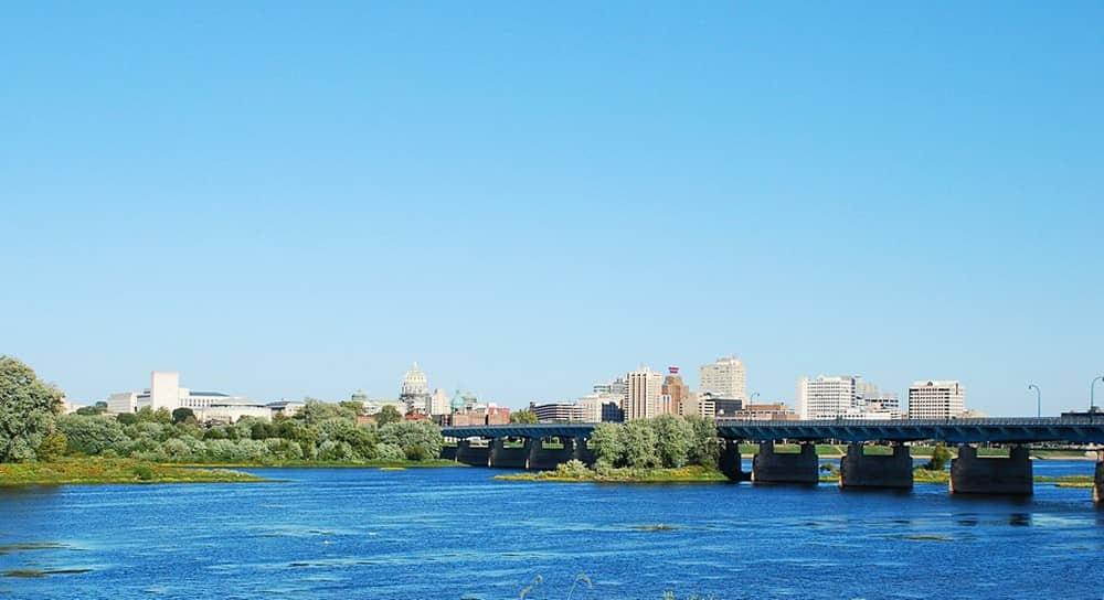 Harrisburg PA River