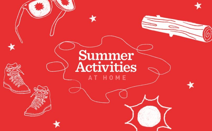 summer activities at home