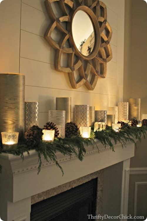 Holiday Mantel Decorations