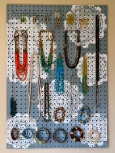 jewelry pegboard