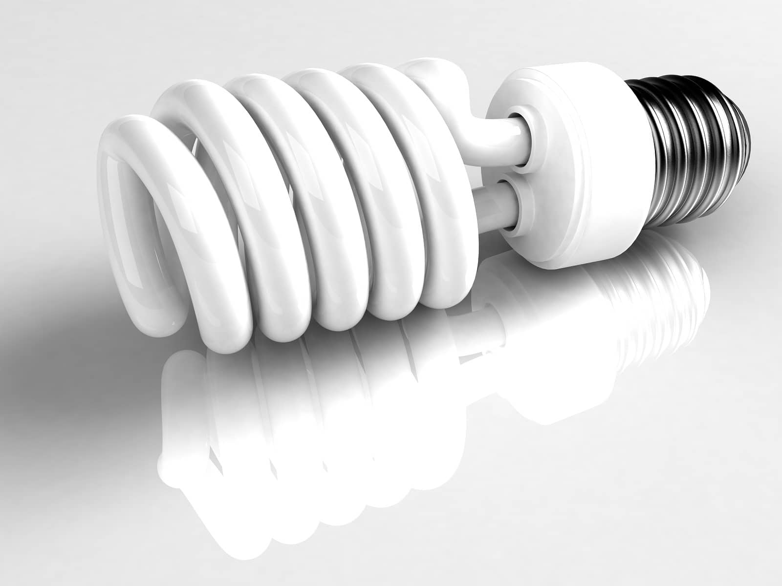 Fluorescent bulbs - Atypical things that can be recycled.