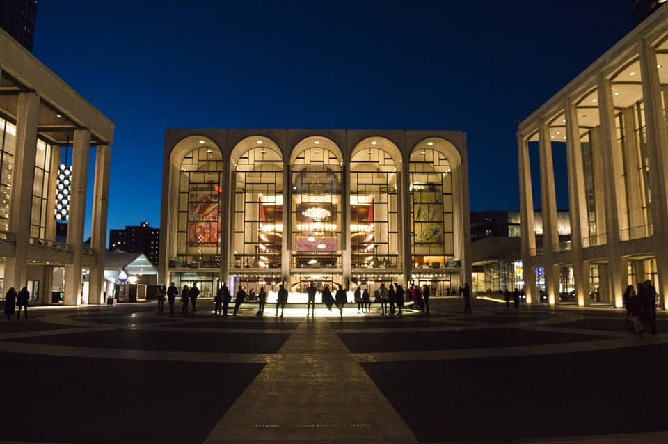 Anniversary date idea in NYC – Lincoln Center