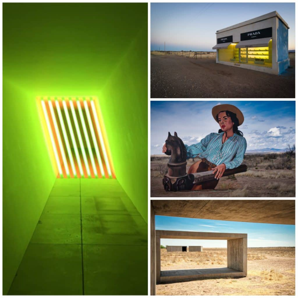 Marfa, Texas Art