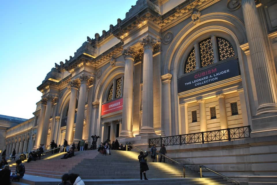 Anniversary date idea in NYC – Metropolitan Museum of Art