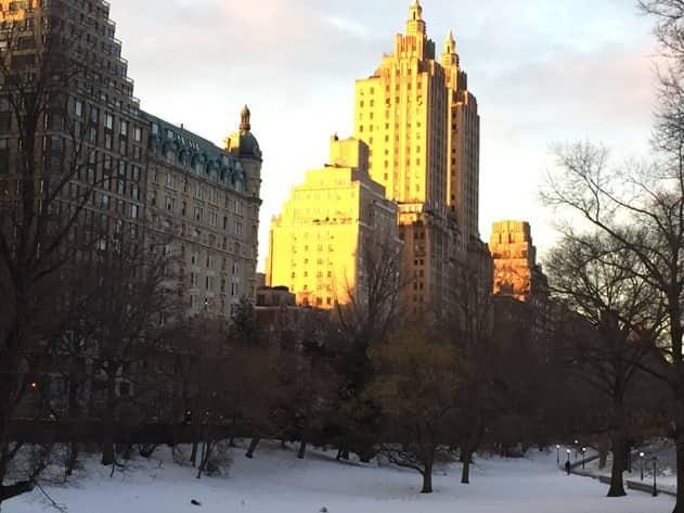 NYC Winter Skyline