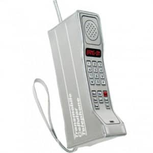 Very large cell phone from the 80s