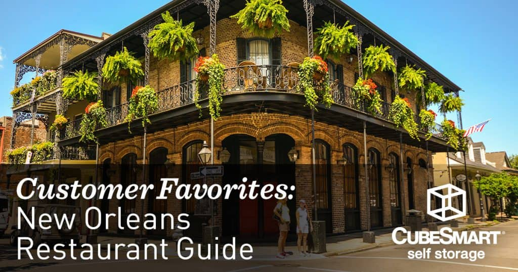 New orleans restaurant guide the storage space for Restaurant guide